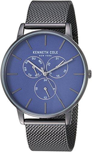 Kenneth Cole Homme Quartz analogique Montre avec Bracelet en Acier Inoxydable KC50008006