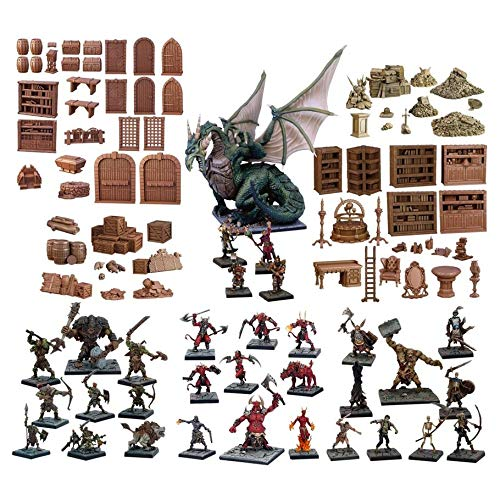 Mantic Games MGTC0101 TerrainCrate: GMS Dungeon Starter Set, Multi