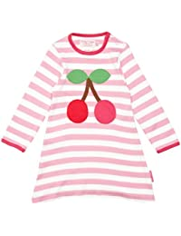 Toby Tiger Cherry Patterned Girl's Dress