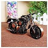 GWModel Oldtimer Motorrad Modell Handarbeit Eisen Kunst Antike Modell Fahrzeug Sammlung Home Desktop Retro Metall Deko Kreative Persönlichkeit Ornament Hochwertige Geschenk, Bronze