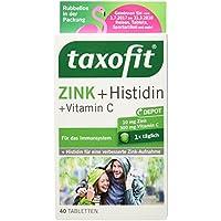 Preisvergleich für Taxofit Zink plus Histidin und Vitamin C, 40 Tabletten, 34,6 g