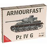 Armourfast 1/72 German Panzer IV G Model Kit - Contains 2 Tanks