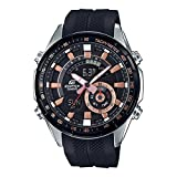 Casio Edifice Analog-Digital Black Dial Men's Watch - ERA-600PB-1AVUDF (EX421)
