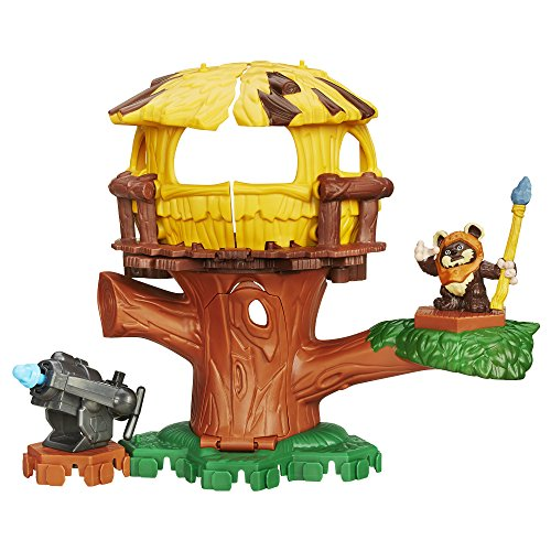 Playskool Heroes – B2032 – Star Wars – Endor Adventure – Ewok Figur + Zubehör