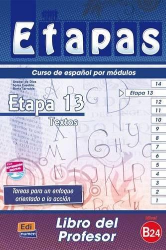 Etapas 13 Libro Del Profesor par Berta Sarralde Vizuete