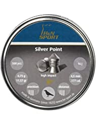 H&N Sports SILVER POINT - Balines H&N SILVER POINT unisex, talla 4.5 mm