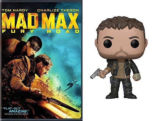 Tom Hardy as Max Rockatansky Bundle: Mad Max Fury Road DVD Movie & Pop # 509 Figure Mad Max Bundle Pack