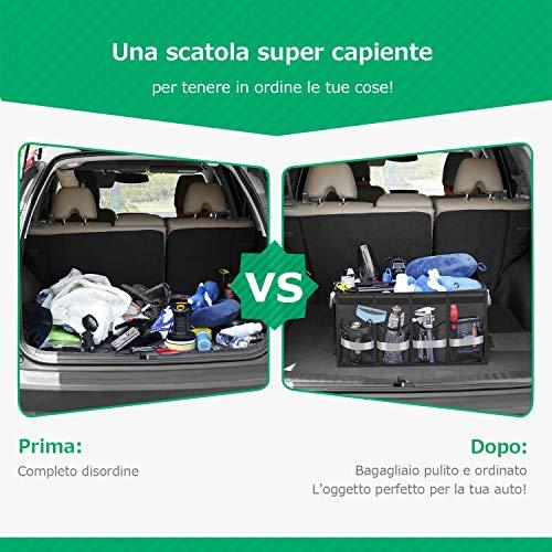 Zoom IMG-1 oasser organizer bagagliaio auto organizzatore