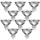 10er Set Nice Price von Paulmann Halogen Strahler mit GU5,3 Sockel (warm-weiß, 12 Volt AC, 20 Watt, Lampe, Leuchtmittel, Haushaltspack, 12V, 20W) [Energieklasse C]