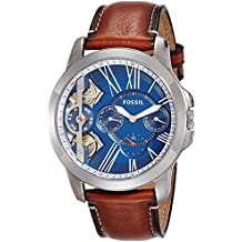 (Certified Refurbished) Fossil Grant Analog Blue Dial Men's Watch - ME1161#CR
