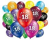 20Stück Luftballons Geburtstag 18Jahre