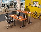 OtdAir Höhenverstellbarer Schreibtisch Elektrisch Tischgestell Schreibtisch,passt für alle gängigen Tischplatten - 3