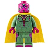 Lego Vision Minifigure - Split from Lego Marvel Super Heroes Avengers Quinjet Chase 76032 by LEGO