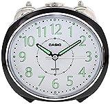 CASIO 10105 TQ-369-1D - Reloj Despertador analógico negro
