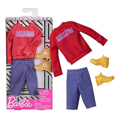 Unbekannt Hipster Outfit | Ken Trend Mode | Barbie | Mattel FXJ42 | Puppen-Kleidung