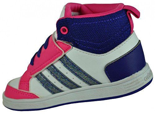 Adidas Hoops CMF MID INF Bébé sneaker enfants chaussures Blanc Blanc