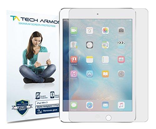 Tech Armor Displayschutz mit Entspiegelung für Apple iPad Mini 1/2 / 3 - Anti-Fingerabdruck - 2 Stück - Mini Protector 2 Ipad Screen