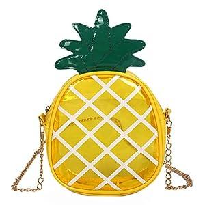 Lamdoo Süße Frauen Mädchen Fruit Schultertasche Messenger Tote Geldbörse Crossbody Taschen Handtasche Strawberry