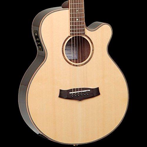 Tanglewood TGRSF-CE Super Guitarra Electroacústica Folk de madera de palisandro
