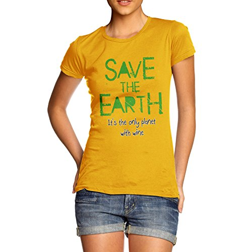 twisted-envy-womens-save-the-earth-100-organic-cotton-yellow-t-shirt-medium