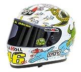 AGV 1:2 Scale Helmet Valentino Rossi MotoGP Valencia 2005 by AGV