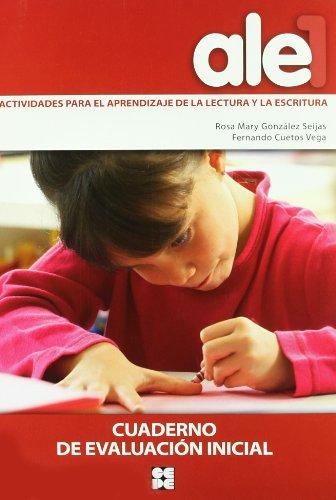 Ale. 1, Cuaderno de Evaluación Inicial por Fernando Cuetos