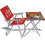 [Sponsored]JMK Kids Multipurpose Table Chair Set + Free Magic Slate Education Learning System Chota Bheem Look