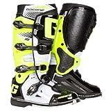 Gaerne Motocross-Stiefel SG 10 Weiß Gr. 44