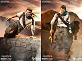Sideshow Uncharted 3 Nathan Drake 1/6 Scale 12 Action Figure by Sideshow