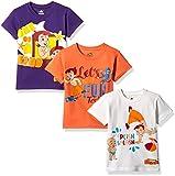 Chhota Bheem Boys' T-Shirt (Pack of 3) (8904157860888) 2 - 3 Years
