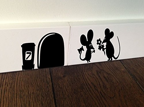 mouse-with-flower-amour-love-heart-kids-funny-wall-art-decal-stickers-baseboard-kids-mice-by-spb87