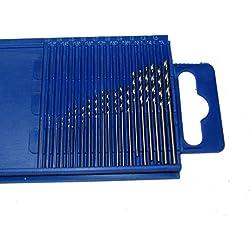 Generic L Rendant Toolsm Micro perceuses perceuses Bijoux Mini perceuse Lot de création de modèle 0.3-1.6mm Micro Outils Mini perceuse Lot 0.3-