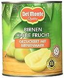 Del Monte Birnen 1/2 Frucht in Fruchtmark, 6er Pack (6 x 825 g Dose)