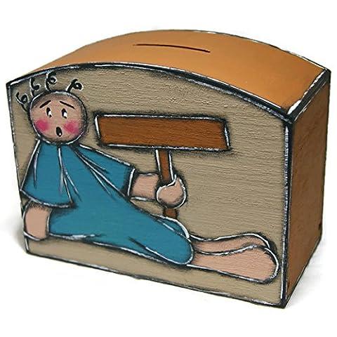 Tirelire Poupee - Tirelire personnalisable avec poupée - Tirelire en