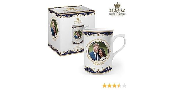 Tasse zum Gedenken an die Hochzeit von Prinz Harry und Meghan ...