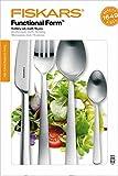 Fiskars Besteck-Set, 16-teilig, Qualitätsstahl, Silber/Matt, Functional Form, 1002958