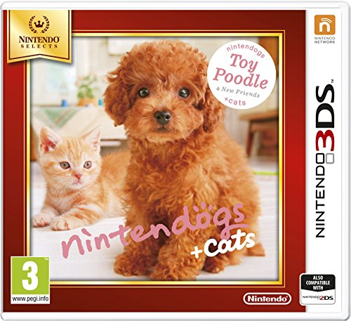 3Ds Nintendogs + Cats - Toy Poodle & New Friends (Eu)