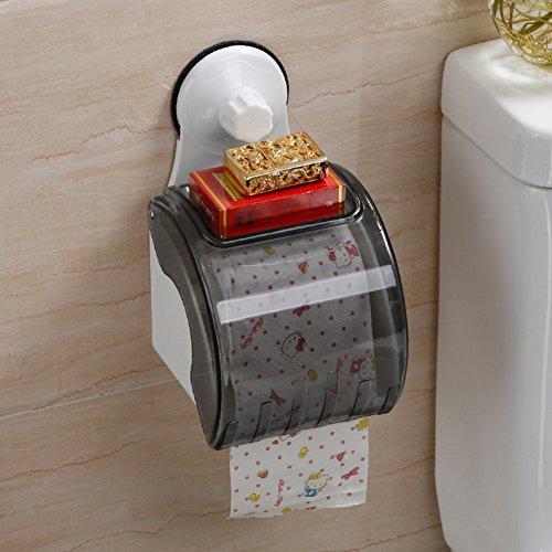 Aufkleber toilettenpapierständer,Papier-handtuchhalter,Wandhalterung tissue box Wasserdicht Wc-papierhalter Gewebe-halter Toilettenpapier-regal-A 14x22cm(6x9inch) (Wc-gewebe Wandhalterung)
