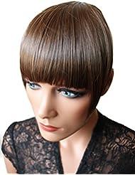 PRETTYSHOP frange, postiche, mèche de cheveux, Poney, clip en extensions, variation de couleur HF9-2