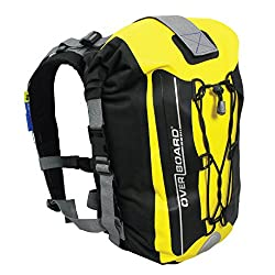 Overboard Premium Wasserdichter Rucksack | 20/30 Liter Auftriebskörper | 100% wasserdichter Dry Bag Rolltop Rucksack | mit 2-Wege-Falz-Dichtungssystem