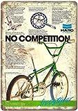 Sary buri HARO Master Freestyle BMX Bicycle en Métal Plaque Mur Art Peinture Décoration