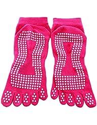 Bloque de yoga yoga, pilates Espuma ladrillo Stretch Salud Fitness ejercicio Herramienta Rosa Hot Pink sock