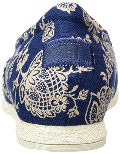 Think! Damen Shua Espadrilles Blau (blau/kombi 94)