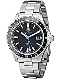 Tag Heuer Herren wak211a. BA0830Keramik Kaliber Analog Display Swiss Automatische Silber Armbanduhr