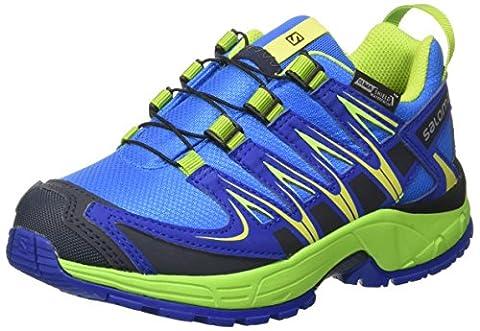 Salomon Unisex-Kinder Xa Pro 3d Cswp J Outdoor-Multisport-Schuhe, Blau (Union