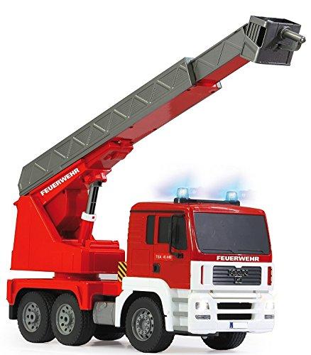 RC Auto kaufen LKW Bild 3: RC MAN Feuerwehr 27MHz ferngesteuert - Motorsound, Hupe, Licht INKL. BATTERIEN - komplett Set*