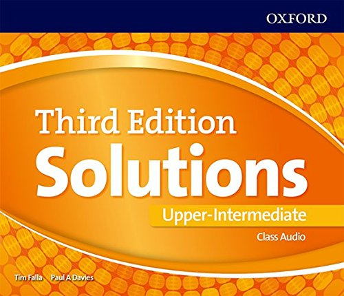 Solutions 3rd Edition Upper-Intermediate. Class Audio CD (Solutions Third Edition)