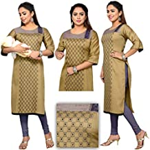 CEE 18 Women's Cotton Straight Maternity/Nursing/Easy Feeding/Breastfeeding/Kurti/Kurta/Dress/with Zippers for PRE and Post Pregnancy