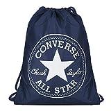Converse Unisex Turnbeutel Cinch Bag Deep Navy White (dunkel blau)