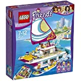 LEGO - 41317 - Friends - Jeu de Construction - Le catamaran